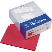 Pendaflex® Color End Tab Folders, Red (H110DR)