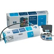 HP Designjet Ink System, (C1807A), CP Dye Cyan