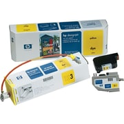 HP Designjet Ink System, (C1809A), CP Dye Yellow
