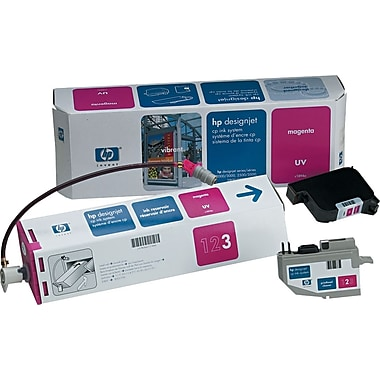 HP DesignJet CP Magenta UV Ink System (C1894A), 410ml