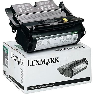 Lexmark Black Toner Cartridge (12A6830), Return Program
