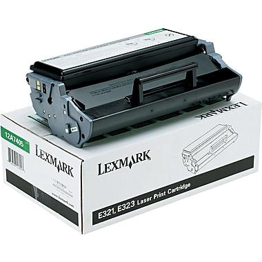 Lexmark 12A7405 Black Toner Cartridge, High Yield (12A7405)