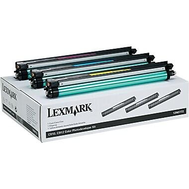 Lexmark 12N0772 Color Photodeveloper Kit, 3/Pack