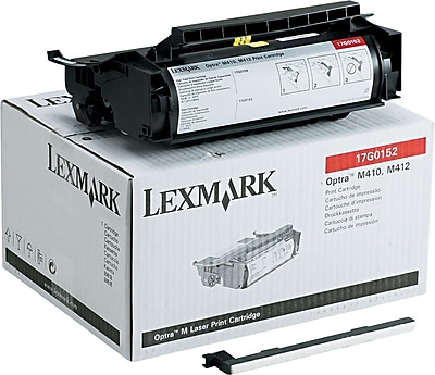 Lexmark Toner Cartridge, 17G0152, Black