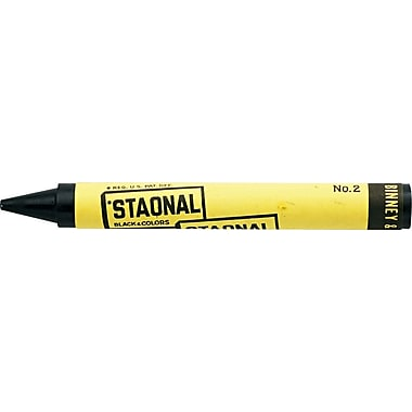 Crayola® Bulk Extra Large Marking Crayon, Black - 8/Pack