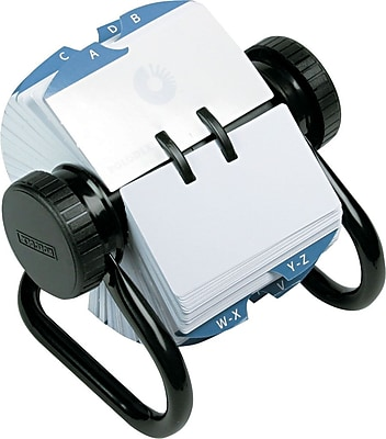 business card rolodex