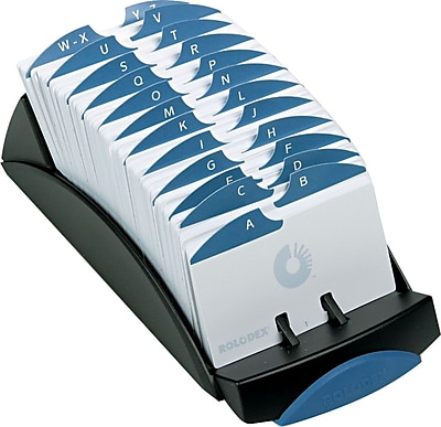 Rolodex Card Files Cases Holders Staples