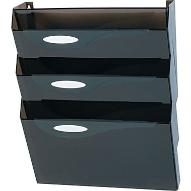 Eldon® Hot 3-Pocket Wall File Starter Set, Letter-Size