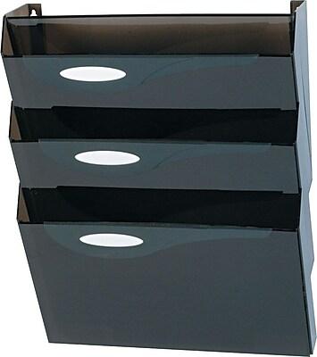 Eldon® Hot 3-Pocket Wall File Starter Set, Letter-Size
