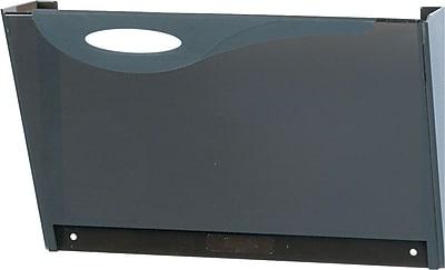 Rubbermaid® Hot File Letter-Size Filing Pocket, Smoke