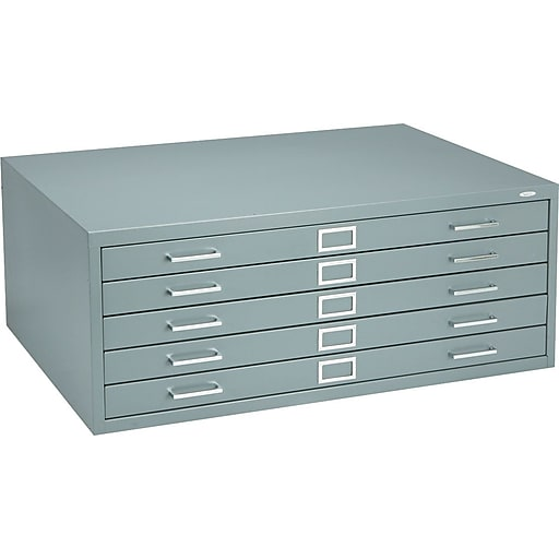 Safco 5 drawer flat file grayspecialty 405w 4994grr staples httpsstaples 3ps7is malvernweather Choice Image