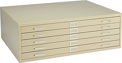Safco® Steel Flat File, For Sheets up to 43