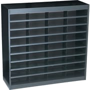 "Safco® EZ STOR Literature Organizer, 36 Compartment, 37 1/2""x 12 3/4""x 36 1/2"", Black"