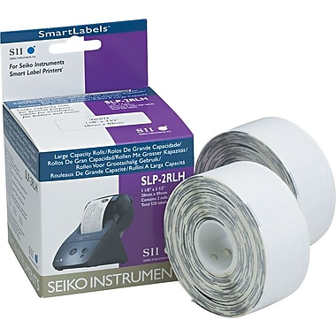 Seiko Self-Adhesive High-Capacity Address Labels, 260/Roll, White