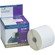 Seiko Self-Adhesive Shipping Labels, 220/Roll, White