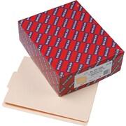 Smead®  End Tab File Folder, Shelf-Master® Reinforced 1/3-Cut Tab Center Position, Letter Size, Manila, 100 per Box (24136)