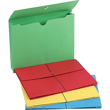 Staples® Colored Expanding Wallets, 2