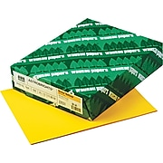 """Astrobrights Colored 24 lb. Paper, Solar Yellow, 8 1/2"""" x 11"""", 500 Sheets"""
