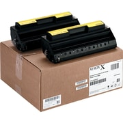 Xerox® Faxcentre f110 Black Toner Cartridge, 2/Pack (013R00609)