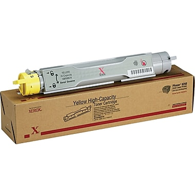 Xerox® Phaser 6250 Yellow Toner Cartridge, High Yield (106R00674)