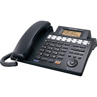 Panasonic KX-TS4300B 4-Line Corded Integrated Telephone System with Digital Answering System