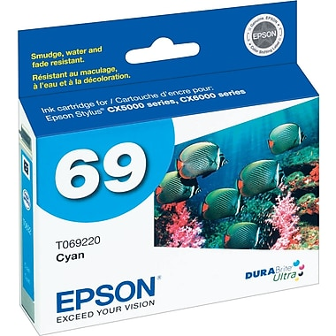 Epson® 69 (T069220) Cyan Ink Cartridge