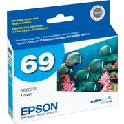 Epson® 69 (T069220) Cyan Ink Cartridge