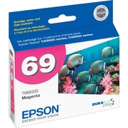 Epson® 69 (T069320) Magenta Ink Cartridge
