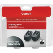 Canon® PG-40 Black Inkjet Cartridges Multi-pack (2 cart per pack)