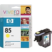 HP 85 Yellow Printhead Cartridge, Standard Yield