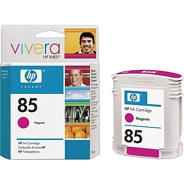 HP 85 Magenta Ink Cartridge (C9426A), 28ml