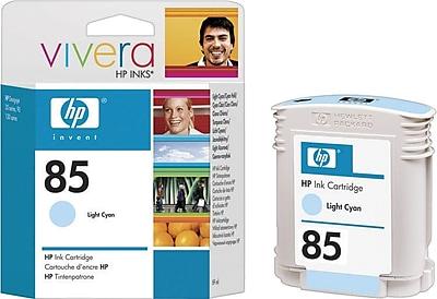 HP 85 Light Cyan Ink Cartridge, High Yield (C9428A)
