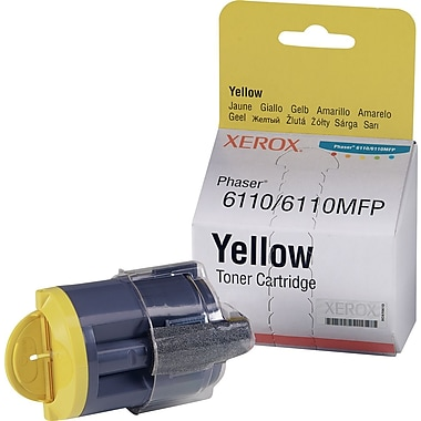 Xerox Phaser 6110/6110MFP Yellow Toner Cartridge (106R01273)