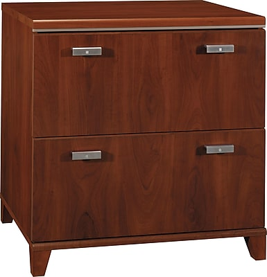 Bush Furniture Tuxedo Lateral File, Hansen Cherry