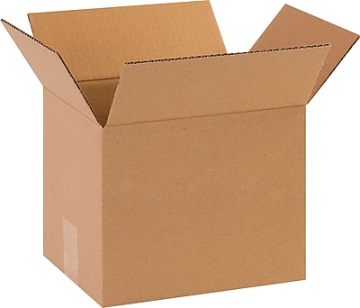 Brown 8 Height 22 Length Pack of 10 14 Width RetailSource B221408CB10 Corrugated Box