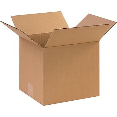 10''x9''x9'' Staples Corrugated Shipping Box, 25/Bundle (1099)