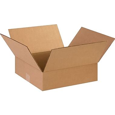 14''x14''x4'' Staples Corrugated Shipping Box, 25/Bundle (14144)