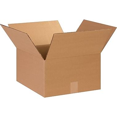 14''x14''x8'' Staples Corrugated Shipping Box, 25/Bundle (14148)