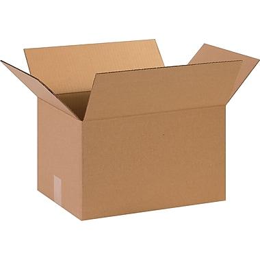 15''x11''x9'' Staples Corrugated Shipping Box, 25/Bundle (15119)