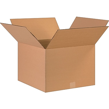 17''x17''x12'' Staples Corrugated Shipping Box, 25/Bundle (171712)
