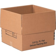 "18""x18""x16"" Partners Brand Deluxe Packing Boxes, 20/Each (181816DPB)"