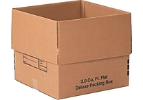 18 (L) x 18 (W) x 16 (H)' Deluxe Moving Boxes, 32 ECT, Brown, 20/Bundle (181816DPB)