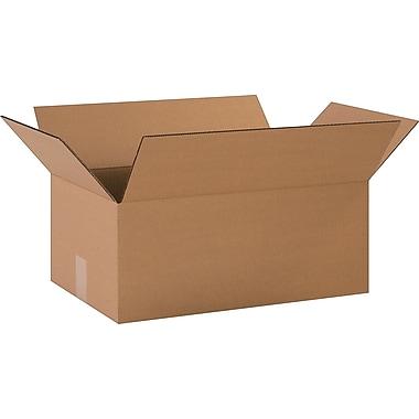Boîtes en carton ondulé, 20 po x 12 po x 8 po, lot de 20