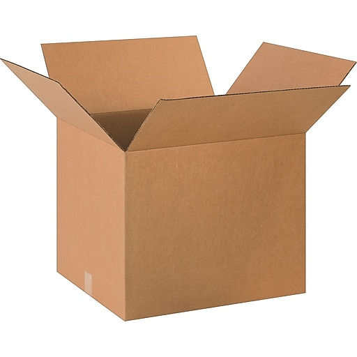 """20"""" x 18"""" x 16"""" Shipping Boxes, 32 ECT, Brown, 20/Bundle (BS201816)"""