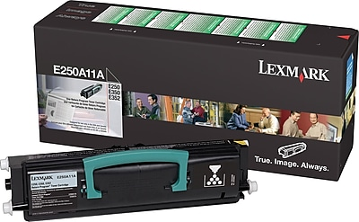 Lexmark E250/E350 Black Toner Cartridge (E250A11A), Return Program