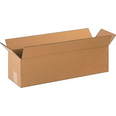 22''x6''x6'' Staples Corrugated Shipping Box, 25/Bundle (2266)