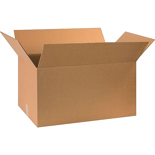 """30"""" x 17"""" x 16"""" Shipping Boxes, 32 ECT, Brown, 20/Bundle (BS301716)"""