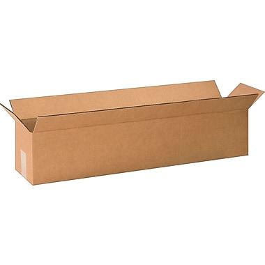 30''x6''x6'' Staples Corrugated Shipping Box, 25/Bundle (3066)