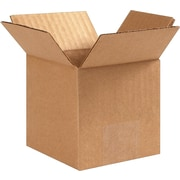"4 (L) x 4 (W) x 4 (H)"" Shipping Boxes, Brown, 25/Bundle (PRA0001)"