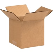 "5 (L) x 5 (W) x 5 (H)"" Shipping Boxes, 32 ECT, Brown, 25/Bundle (PRA0006)"